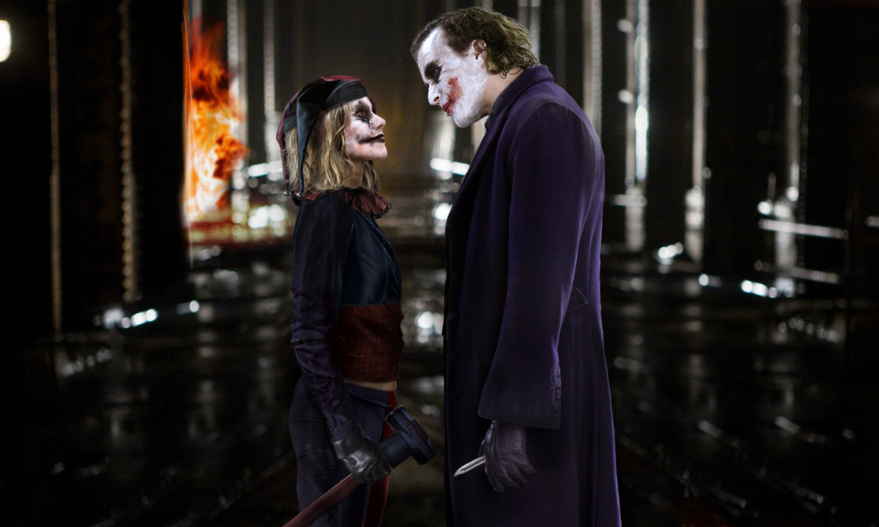 Harley and the joker