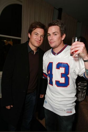 Jason Bateman with Mark McGrath