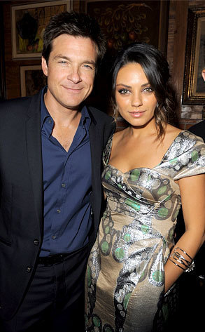 Jason Bateman with Mila Kunis