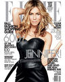 Jennifer Anniston in Elle's September 2009 issue