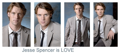 Jesse Spencer is Любовь banners