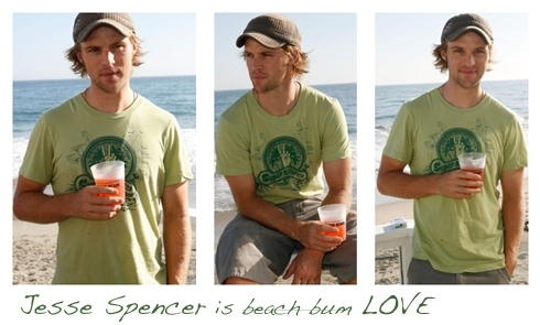 Jesse Spencer is 愛 banners