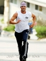 Josh jogging (September 1)
