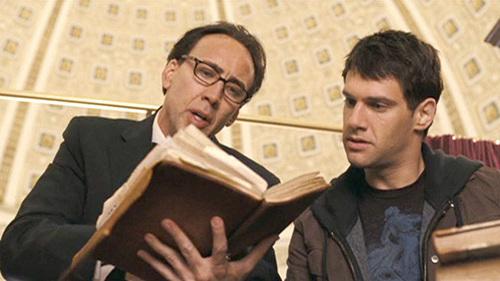 Justin Bartha with Nicolas Cage