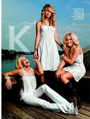 Kellie Pickler/Taylor Swift/Julianne Hough تصویر