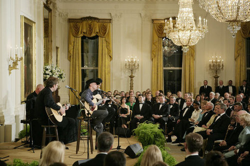 Kenny At The White House