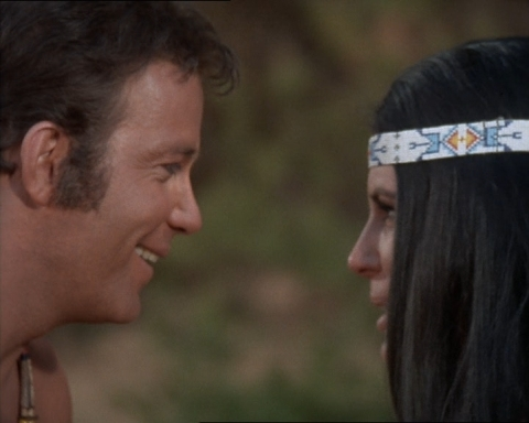 Kirk as ''Kirok'' and Miramanee