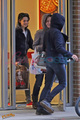 Kristen, Nikki and Elizabeth shopping in Vancouver  - twilight-series photo