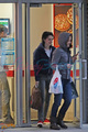 Kristen, Nikki and Elizabeth shopping in Vancouver  - twilight-series photo