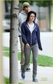 Kristen Stewart: Blue Hoodie Beauty - twilight-series photo