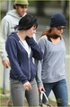Kristen Stewart: Blue Hoodie Beauty  - twilight-series photo
