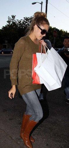 LC leaving Salon