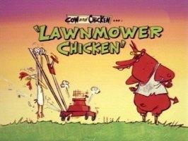 Lawnmower Chicken