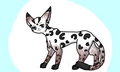 Leopardpelt!(me in cat form)