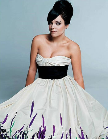 Lily Allen in Marie Claire