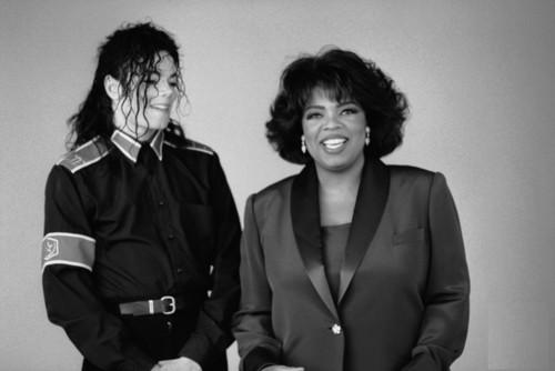MJ and Oprah