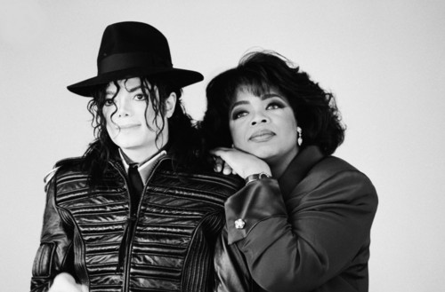 MJ and Oprah