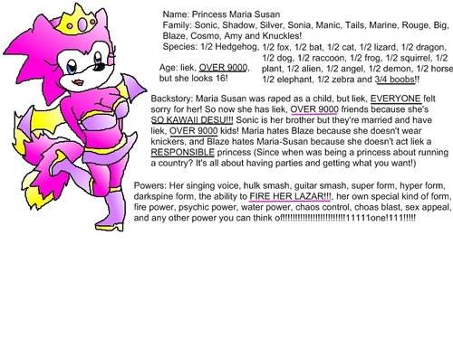 Maria Susan's bio