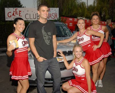 Mark @ Glee Premiere Party (Sept 09) - mark-salling Photo