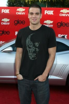 Mark @ glee Premiere Party (Sept 09)