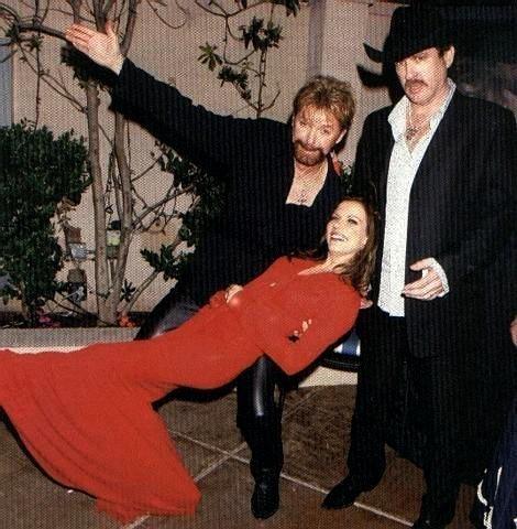 Martina with Brooks&Dunn