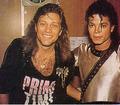 Michael <3 & Bon Jovi - michael-jackson photo