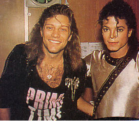 Michael <3 & Bon Jovi