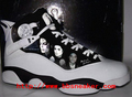 Michael Jackson Memorial black-and-white jordan sneakers - michael-jordan photo