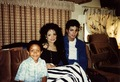 Michael with LaToyta & Emanuel Luis - michael-jackson photo