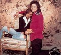 Mike & Lisa - michael-jackson photo