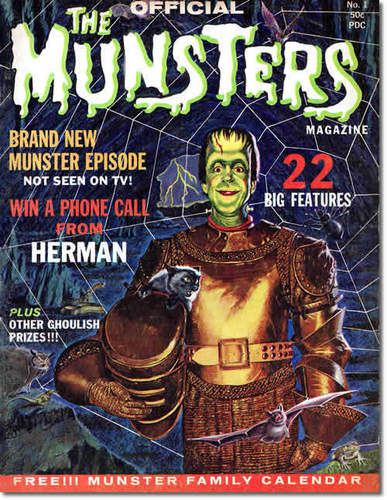 Munsters collectibles