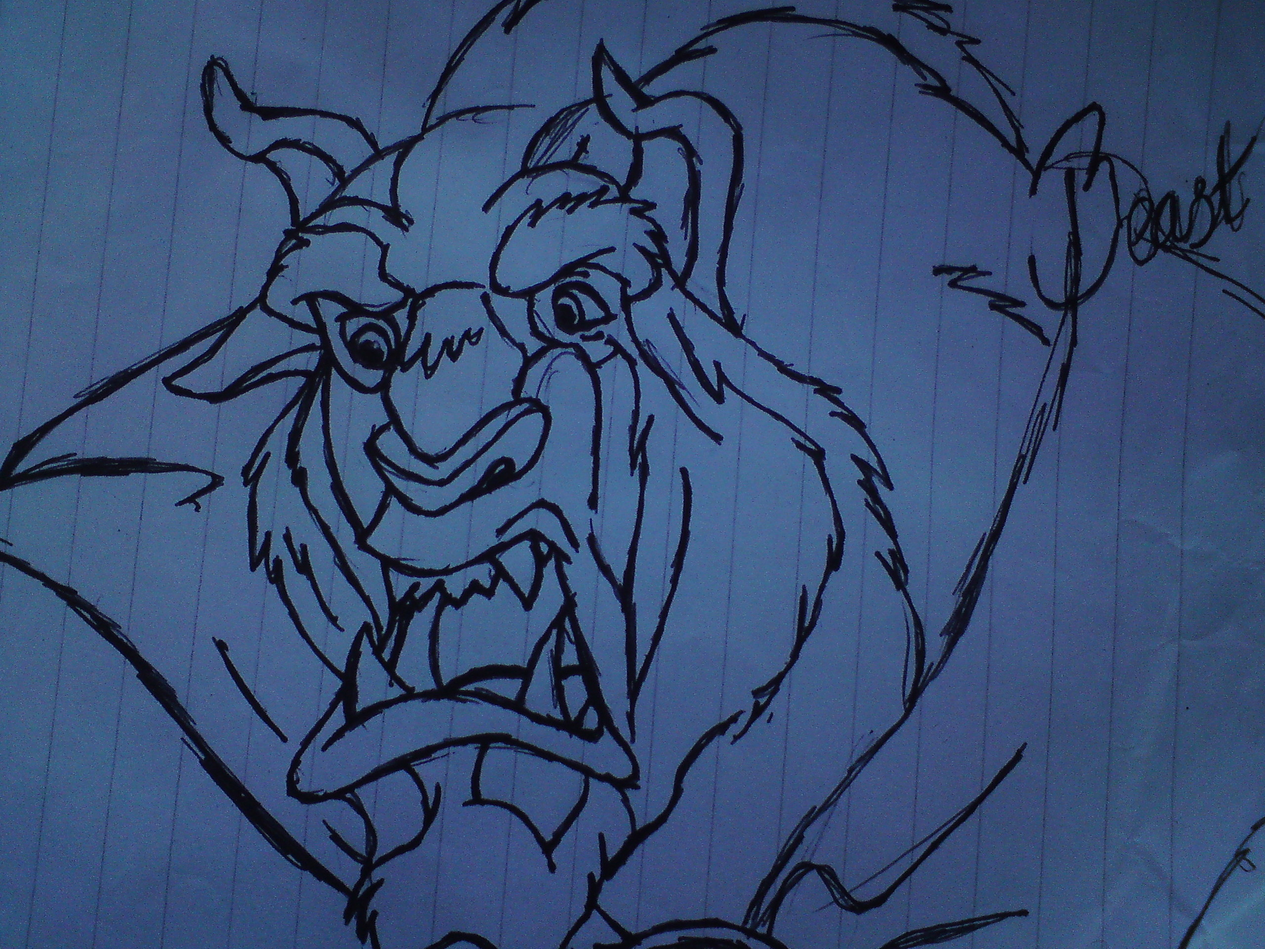 My Drawing of Beast