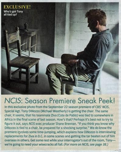 NCIS - Unità anticrimine TV Guide Scans