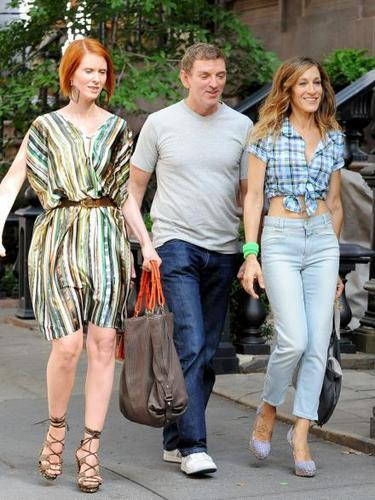 On the Set of SATC 2 6/9/09