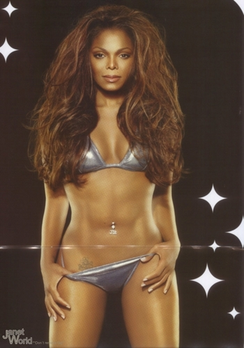 Janet Jackson wallpaper containing a bikini titled Photoshoots Janet
