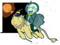 Pigfarts Is On Mars - starkidpotter fan art