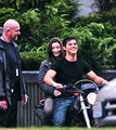 RPattz, Kristen & Taylor Film Eclipse - twilight-series photo