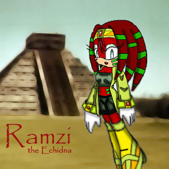 Ramzi the Echidna