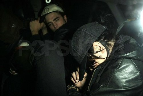 Rob & Kristen in Cab