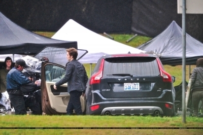 Rob on set of Eclipse