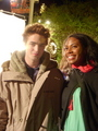 Rob with fans (looking sweet) - twilight-series photo