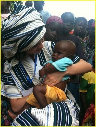 Selena Gomez in Ghana