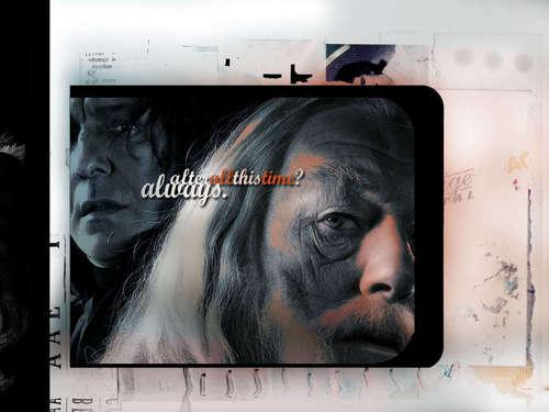 Snape & Dumbledore