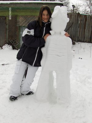 Snow Cody, oder as I like to call it, Snowdy (the girl in the pic is not me)