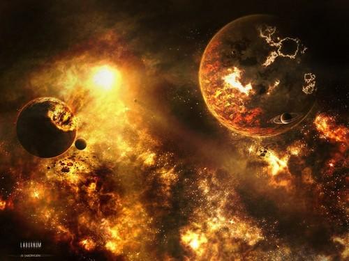 মহাকাশ Art (Sci-Fi)