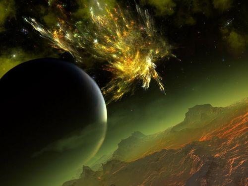 अंतरिक्ष Art (Sci-Fi)
