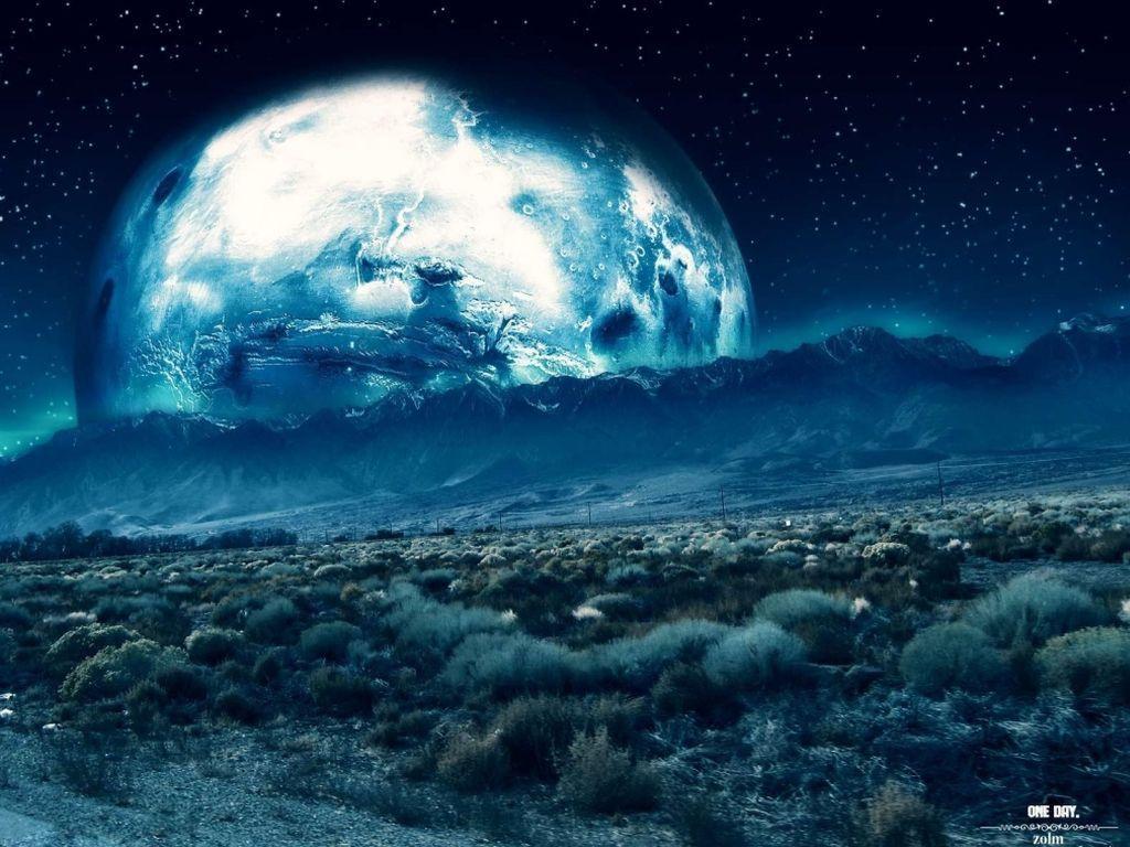 Space space art sci fi
