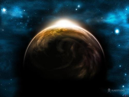 太空 Art 壁纸 (Sci-Fi)