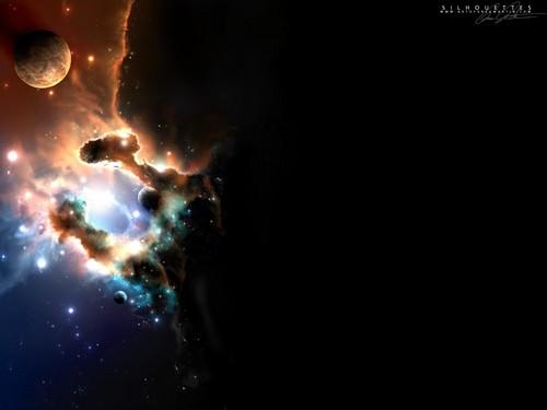 l'espace Art fond d'écran (Sci-Fi)