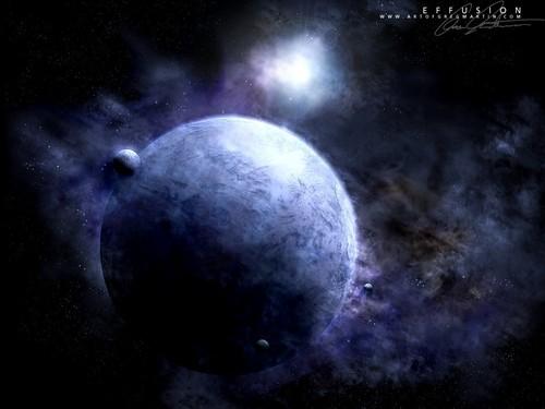 puwang Art wolpeyper (Sci-Fi)